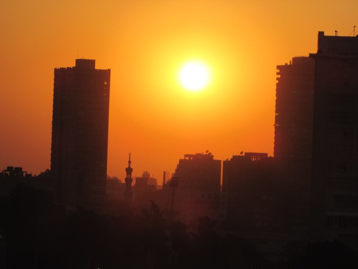 Sunset Over Cairo